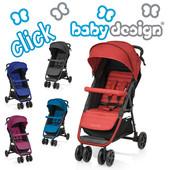 Baby Design Click  прогулочная коляска 2017г