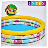 Надувной детский бассейн 59419 Intex 114х25см интекс