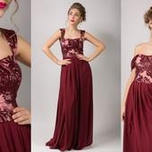 Нарядные вечерние платья в расцветках Асорти