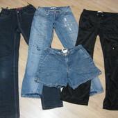 Джинсы брюки штаны для девочки 146-160 р. 10-12 лет