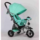 Новинка трёхколёсный велосипед Азимут Кросер Т-350 Фара, резиновые колёса