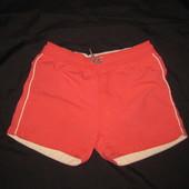 6-7 лет, шорты из плащёвки Zara, коралловые