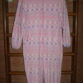 Пижама флисовая, женская, размер М рост до 170 см