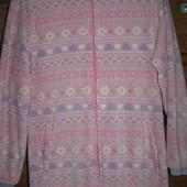 Пижама флисовая, размер М рост до 170 см