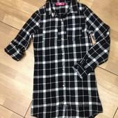 Рубашка- платье- туника Y. D 8-10 лет