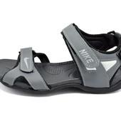 Сандали мужские Nike L2 серые