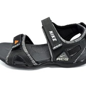 Сандалии мужские Nike ACG H2 черные (реплика)