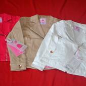 трикотажный куртка пиджак для девочки Венгрия