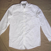 Royal Class (M/39/40) рубашка белая мужская натуральная