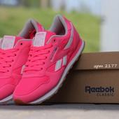 Кроссовки Reebok Classics pink