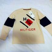 Новый реглан Tommy Hilfiger  на мальчика 6-7 лет