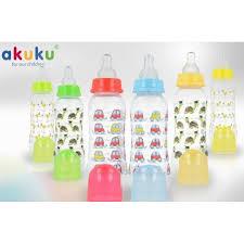 Бутылочка для кормления Akuku стандартная 250мл Польша фото №1