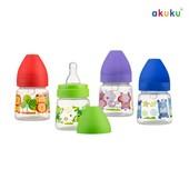 Бутылочка для кормления Akuku c широким горлышком 125мл Польша