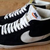 Кеды замшевые Nike оригинал р.42-27см.