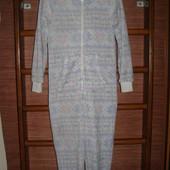 Пижама флисовая, женская, размер S рост до 170 см