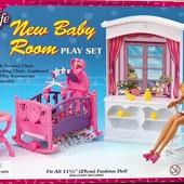 Кукольная мебель Глория Gloria 24022 Детская комната