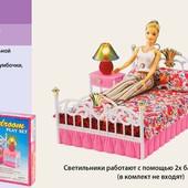 Детская мебель для кукол Gloria 99001 Спальня