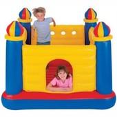 Детский надувной батут Замок Тм Intex 48259 с насосом