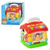 Говорящий домик развивающая игрушка для малышей. Joy Toy 9149 , теремок, сортер