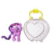 Пони Искорка в сумочке my little pony hasbro