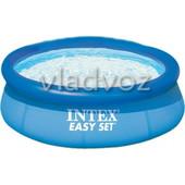 Семейный наливной бассейн Intex 2400 литров 56970 28110 подарок ремкомплект