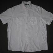 Livergy (L/41/42)  рубашка белая мужская натуральная