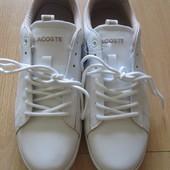 Новые Кеды/кроссовки Lacoste 39 размер, белые