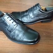 Кожаные туфли  Clarks 12р.