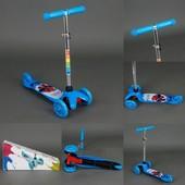 Самокат трехколесный jpmg - 02b/779-15 (1 цвет)