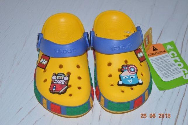 Crocs кроксы lego в наличии 2 джибитс в подарок фото №1