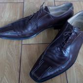 Кожаные мужские туфли Италия р.43