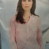 Хлопковая нежная туника-блуза Сrane(германия) размер 40 евро наш 48-50