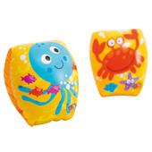Надувные нарукавники детские 1-3 года Крабик 56662