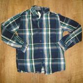 Rebel Рубашка на 7-8 лет, котон, сделана в Бангладеш