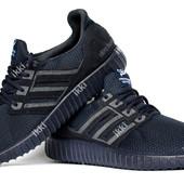41 р Летние кроссовки для мужчин на гибкой подошве (Р-2703с)