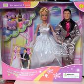 Кукла Defa Lucy 20991 в свадебном платье, с Кеном.
