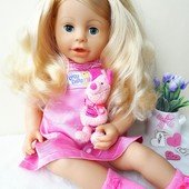 Кукла куколка интерактивная Zapf Creation Германия