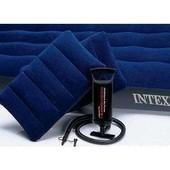Матрас надувной Intex 152*203см+2 подушки+насос