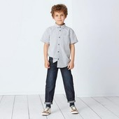 Класснючие джинсики с модными потертостями и жаткой Tchibo, Германия - разные размеры