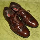 Туфли броги Lloyd Германия 42 р-р стелька - 29 см, от края до края. Полностью кожа, подошва тоже. Ши