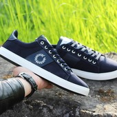 Мокасины Fred Perry dark blue