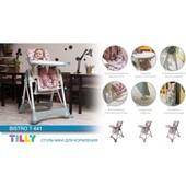 Стульчик для кормления Tilly Bistro T-641 водонепроницаемая ткань