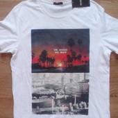 Новая футболка фирменная, бренд  Glo-Story,  размер XL состав 100%коттон Замеры:  длина 75,ширина 5