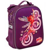 Невероятно красивый рюкзак Кайт с жёстким каркасом Kite 531 Mia and Me для девочки 1-4 кл