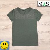 Женская футболка M&S р. S. Идеальное состояние