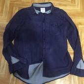 Брендовая летняя мужская рубашка из марлевки от Cedarwood