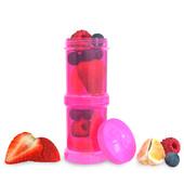 Набор контейнеров для еды 2 шт. Twistshake 78023 Швеция розовый 12124868