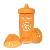 Детская чашка-непроливайка 360 мл. Twistshake 78070 Швеция оранжевый 12124903