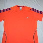 Adidas яркая футболка на крупного парня XXL