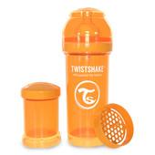 Бутылочка антиколиковая 260 мл. Twistshake 78009 Швеция оранжевый 12124854